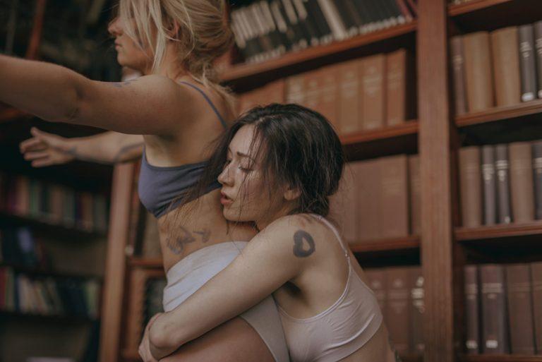 Starring - Emma Evelein en Anastasia Kochmarskaya @ Oude Sterrewacht ©Elena Zemlyanskaya