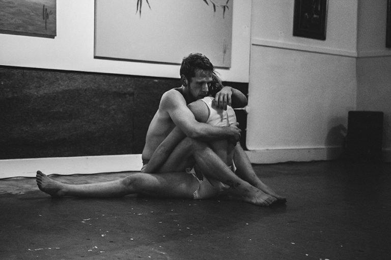 DansBlok @ Old School - HOT MESS - LucyONES (Stephan Bikker en Noemi Wagner) ©Kim Doeleman