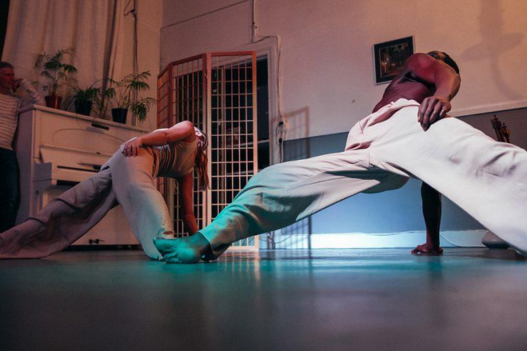 DansBlok @ Old School - Melted Blossom - Remy Tilburg en Robin Sybil Kroes ©Kim Doeleman