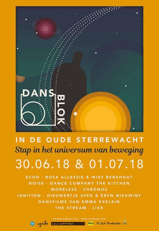DansBlok @ Sterrewacht poster