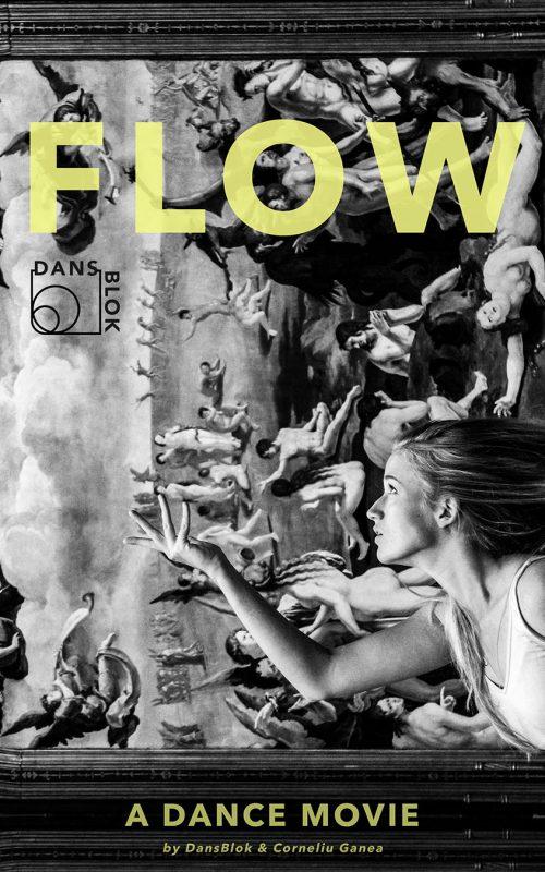 Dansfilm poster FLOW ©Michelle Boelee