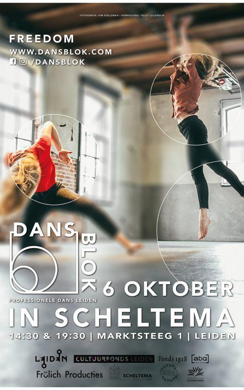 Poster DansBlok @ Scheltema
